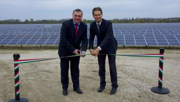 MET Group's first solar power plant has started its operation